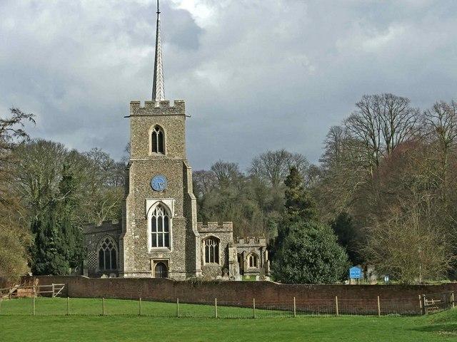St Andrew's Church, Much Hadham, Hertfordshire
