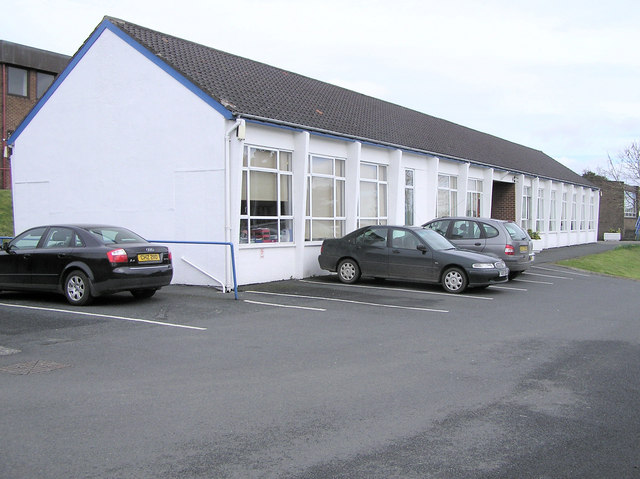 Convent Primary School, Omagh by Kenneth  Allen