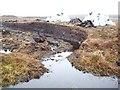 HU3766 : Peat Cutting, Shetland by Robert Bone