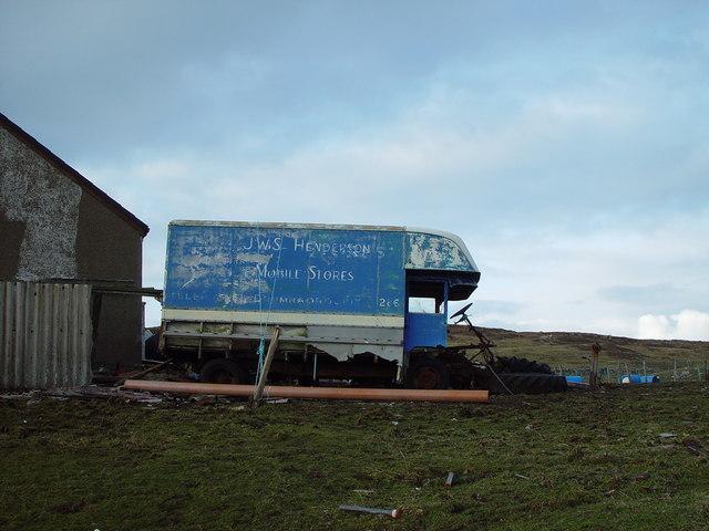 'Mobile Shop', Huxter, Whalsay, Shetland