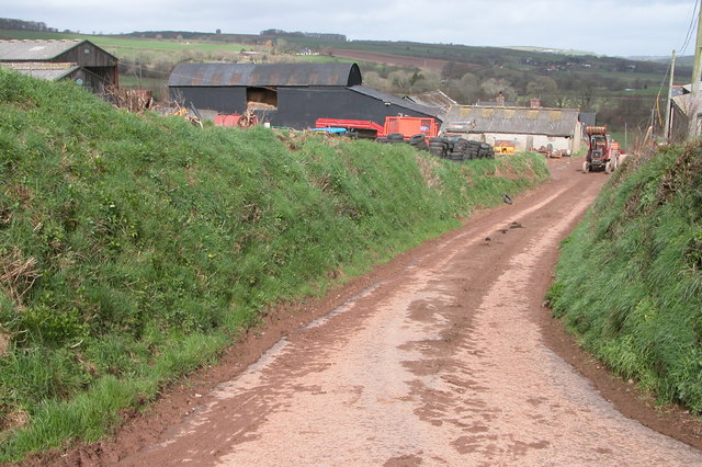 Gosse's Farm in the Taw valley