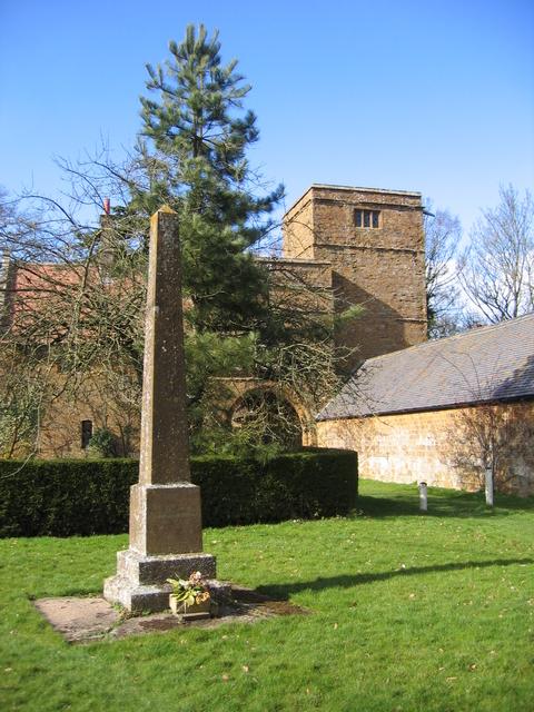 Wormleighton war memorial
