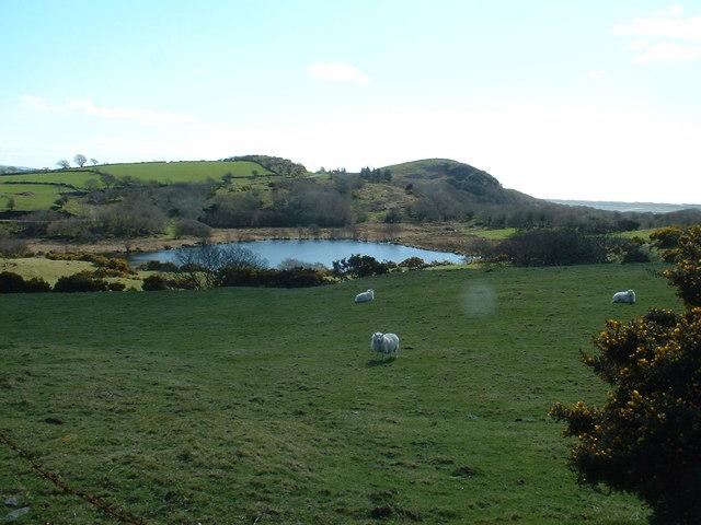 Hafod-y-llyn lake