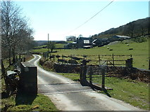 SH6129 : Crafnant Farm by David Medcalf