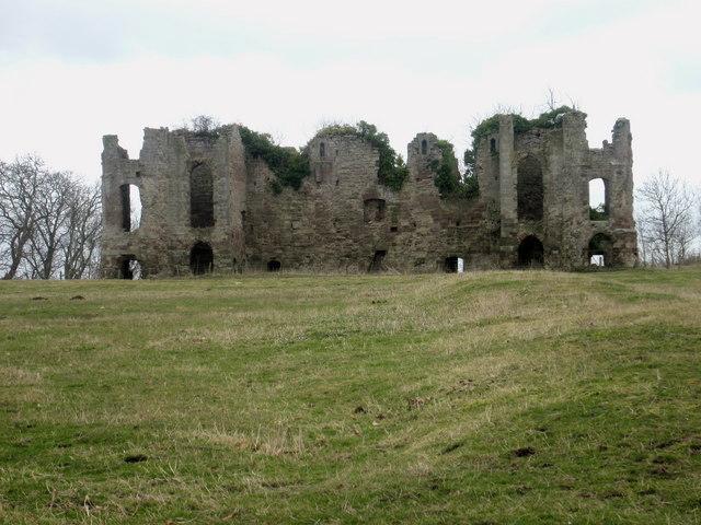 Remains of Twizel Castle