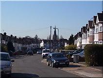 TQ2087 : Church Drive Kingsbury by Robert Timms