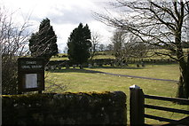 NZ0285 : Cambo Cemetery by Phil Thirkell