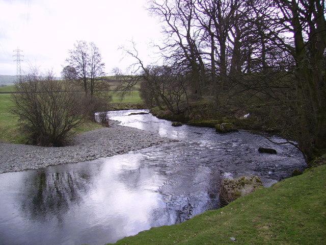 River Sprint near Sprint Mill