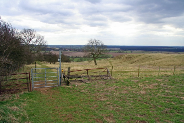 Parting of ways on the Lincolnshire Wolds