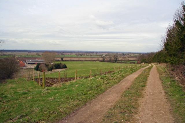 Bridleway above Claxby House Farm