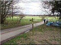 SO4877 : Ludlow Golf Club. by Richard Webb