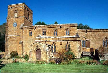 St John the Baptist Church.  Hornton