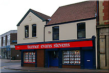 TA2609 : Colourful Estate Agents Premises by David Wright