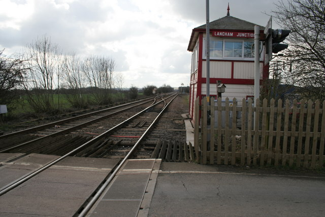 Langham Junction Signal Box, Ashwell, Rutland
