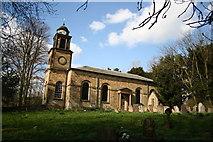 SK7565 : Holy Rood church, Ossington by Richard Croft