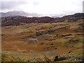 SH6346 : Disused slate quarry below Cnicht by David Gruar