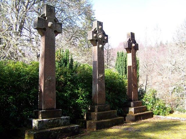Chisholm Graveyard outside Struy
