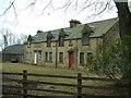 NS8461 : Fortissat Mains Farm by James Allan
