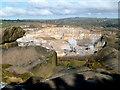 SK2856 : Dene Quarry Cromford from Black Rock by John Stolarski