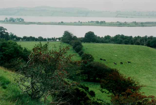 Lough Lene from the Hill of Fore