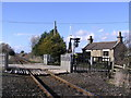 NZ2720 : Whiley Hill : Level  Crossing by Hugh Mortimer