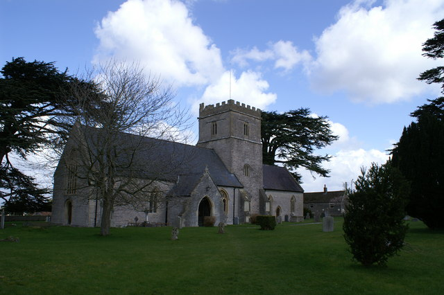The Blessed Virgin Mary Church, Shapwick