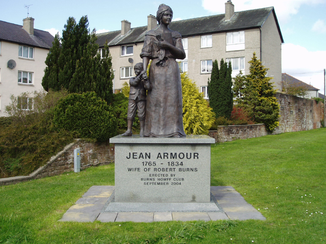 Jean Armour Statue, Dumfries