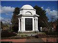 NX9775 : Robert Burns's Mausoleum, Dumfries by Kevin Rae