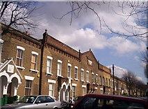 TQ2875 : Shaftesbury Estate, Tyneham Road, Battersea by Alex Walton-Keeffe