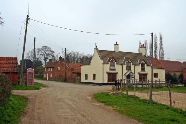 Gothic Farmhouse and Holme village
