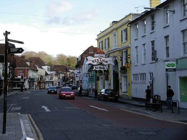 Milford Street, Salisbury