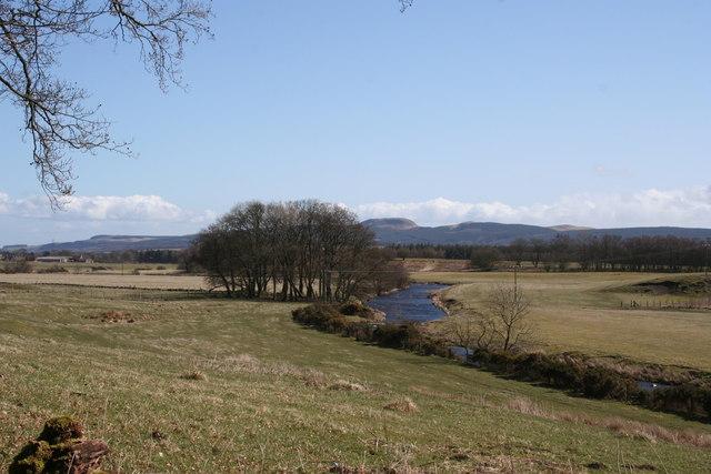 River Devon north east of Yetts o' Muckhart