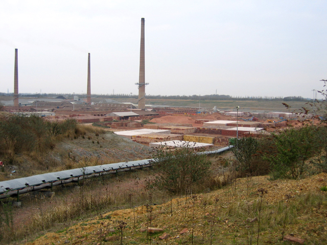 Hanson's King's Dyke brick works, Whittlesey, Cambs