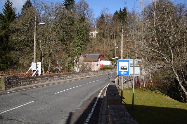Bridge and Post Office, Bridge Of Cally
