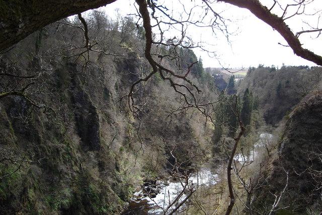 Craighall Gorge