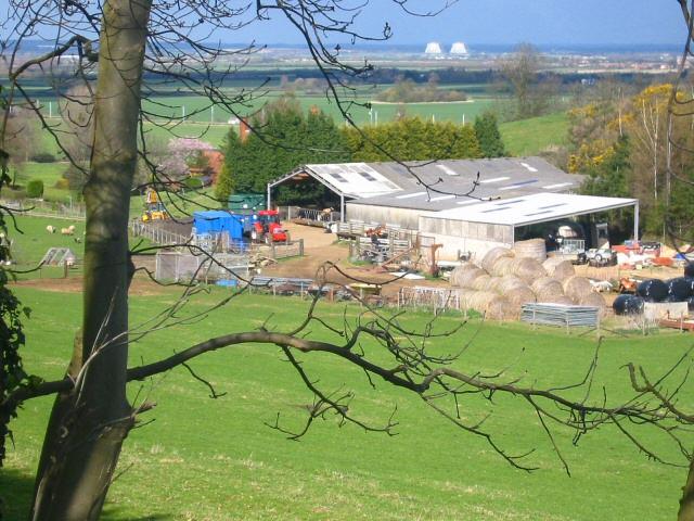 Farm buildings near Millbrook