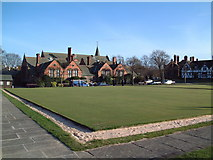 SJ3384 : Bowling Green by David Squire