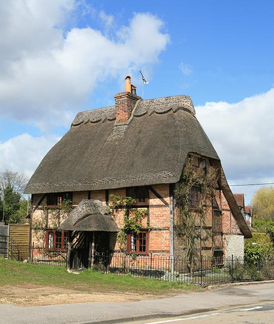 Sweet old house, Romsey Road, Lyndhurst