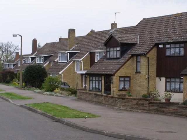 Suburban Housing Broxbourne Herts
