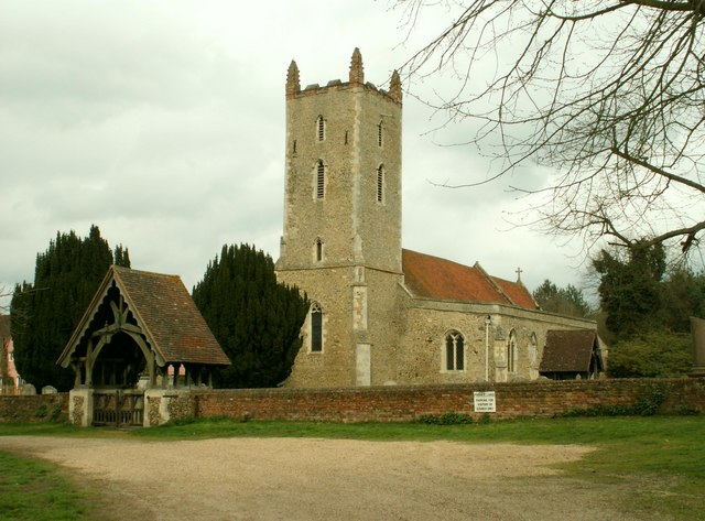 St. Mary's church, Langham, Essex