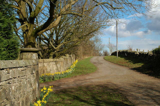 Drive to Chartershall House