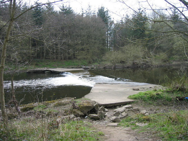 Ford through the River Wear