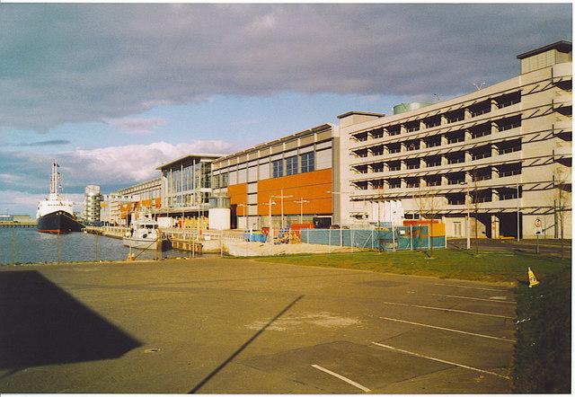 Ocean Terminal, Leith.