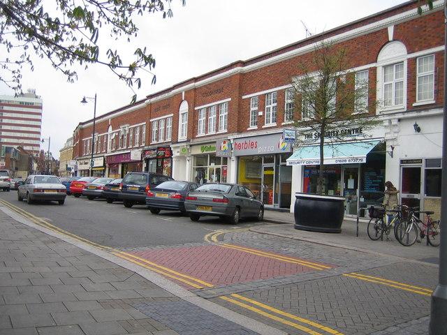 Maidenhead: High Street Colonnade