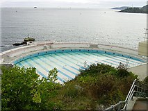 SX4753 : Tinside Lido, Plymouth by Penny Mayes