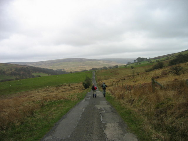Road leading to Geltsdale House