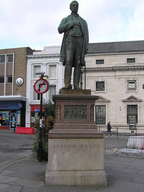 Statue of Statue of Joseph Pease