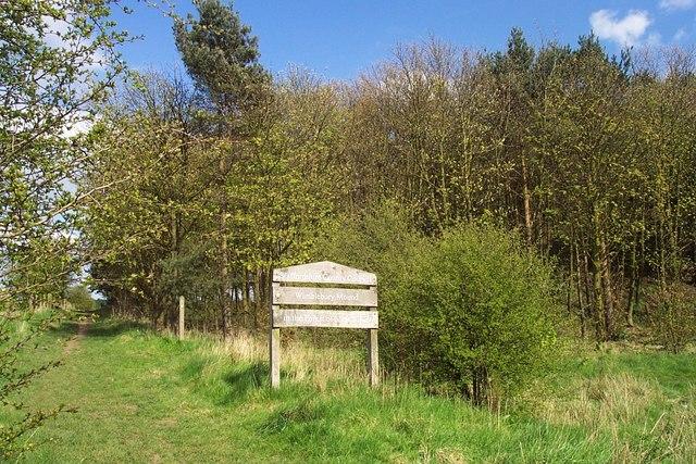 Public Footpath to Prospect Village at Wimblebury Mound