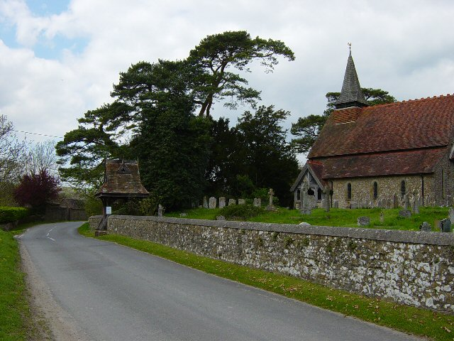 The Parish Church of Holy Cross, Bignor