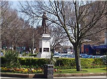 NS3321 : Burns Statue Square, Ayr by Gordon McKinlay